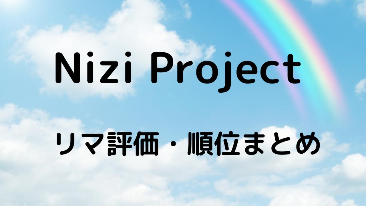 虹 プロジェクト 順位